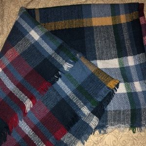 """Accessories - Blanket scarf. Never used.Measures Approx. 55""""x57"""""""